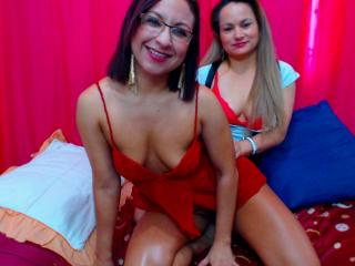 Photo de profil sexy du modèle LoverDivas, pour un live show webcam très hot !