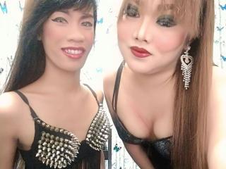 TwoNastyShemale模特的性感個人頭像,邀請您觀看熱辣勁爆的實時攝像表演!