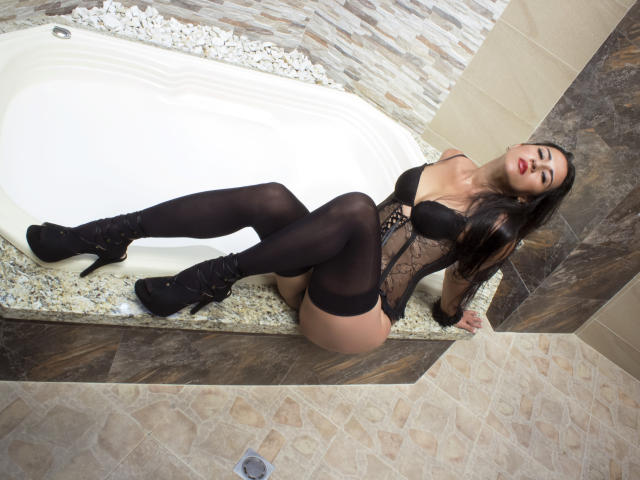Picture of the sexy profile of CristalX, for a very hot webcam live show !