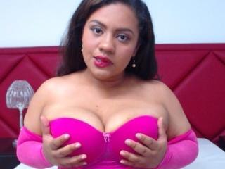 Velmi sexy fotografie sexy profilu modelky AdriJohnson pro live show s webovou kamerou!
