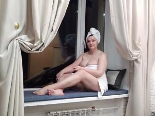 Velmi sexy fotografie sexy profilu modelky AnnaShapes pro live show s webovou kamerou!