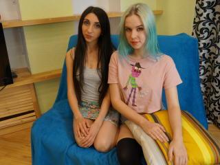 Foto van het sexy profiel van model AriaAndCathy, voor een zeer geile live webcam show!