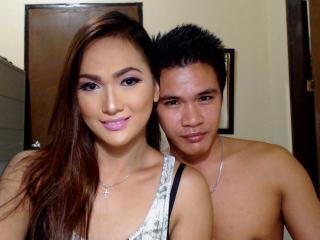 Sexy profilbilde av modellen  Asiancouples, for et veldig hett live webcam-show!