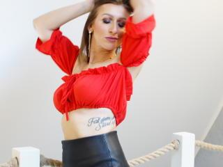 Velmi sexy fotografie sexy profilu modelky BBAudrey pro live show s webovou kamerou!