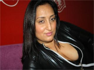 Picture of the sexy profile of BigAss, for a very hot webcam live show !
