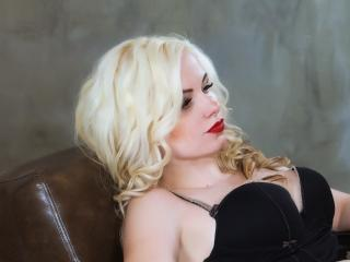 Picture of the sexy profile of BustyBlondAnn, for a very hot webcam live show !