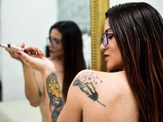 Foto de perfil sexy de la modelo CelineBrown, ¡disfruta de un show webcam muy caliente!