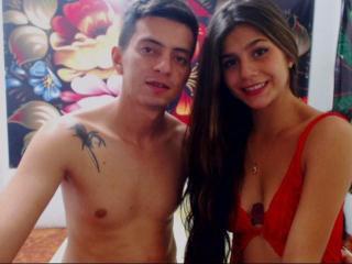 Foto de perfil sexy de la modelo couplefuckparty, ¡disfruta de un show webcam muy caliente!