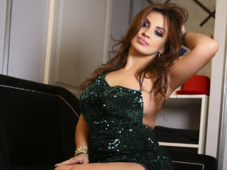 Sexy profilbilde av modellen  DashingFoxyX, for et veldig hett live webcam-show!