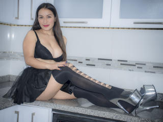 Sexet profilfoto af model DulceMariaPrincess, til meget hot live show webcam!