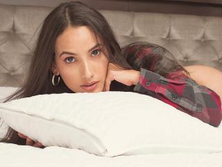 Velmi sexy fotografie sexy profilu modelky DulceRosse pro live show s webovou kamerou!