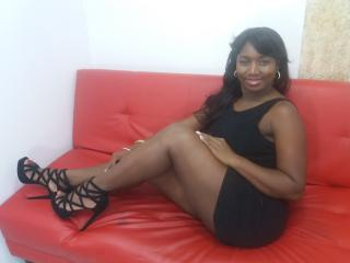 Picture of the sexy profile of EdnaOne, for a very hot webcam live show !