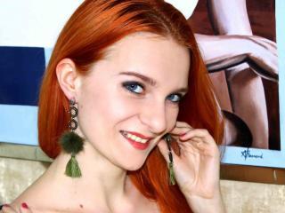 Velmi sexy fotografie sexy profilu modelky EllisFox pro live show s webovou kamerou!