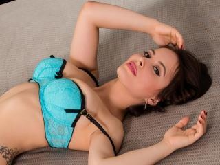 Velmi sexy fotografie sexy profilu modelky EmanuelleX pro live show s webovou kamerou!