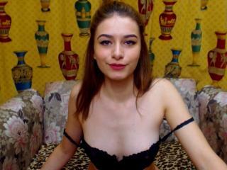 Velmi sexy fotografie sexy profilu modelky EvilEmma pro live show s webovou kamerou!