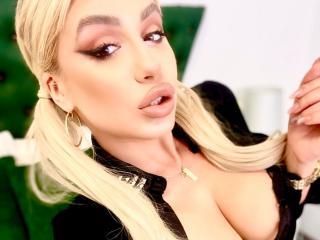 Photo de profil sexy du modèle EvyDream, pour un live show webcam très hot !
