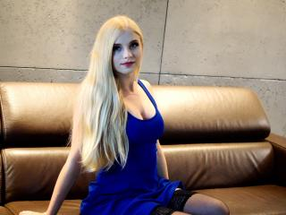 Velmi sexy fotografie sexy profilu modelky FlowerLilian pro live show s webovou kamerou!