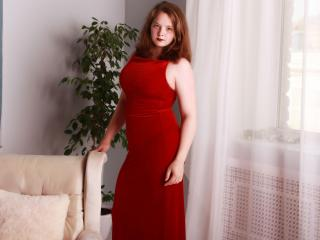 Photo de profil sexy du modèle Gebby, pour un live show webcam très hot !