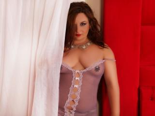 Velmi sexy fotografie sexy profilu modelky GoldFingers pro live show s webovou kamerou!