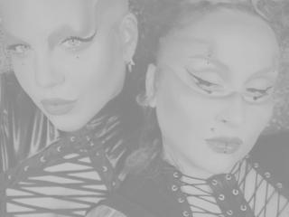 Hình ảnh đại diện sexy của người mẫu GorgeousTransDuo để phục vụ một show webcam trực tuyến vô cùng nóng bỏng!