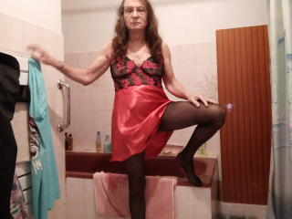 Velmi sexy fotografie sexy profilu modelky Hermeline pro live show s webovou kamerou!