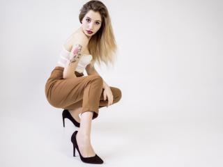 Velmi sexy fotografie sexy profilu modelky HottyLong pro live show s webovou kamerou!