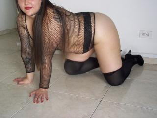 Picture of the sexy profile of JeanneTautou, for a very hot webcam live show !