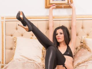Velmi sexy fotografie sexy profilu modelky JoselineExtreme pro live show s webovou kamerou!