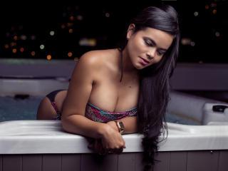 Photo de profil sexy du modèle JulietaMori, pour un live show webcam très hot !