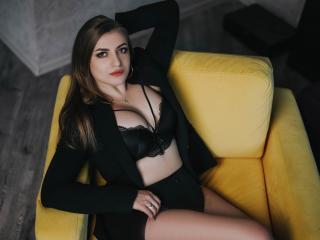 Velmi sexy fotografie sexy profilu modelky KatieCat pro live show s webovou kamerou!
