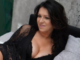 Sexet profilfoto af model KellyMatureX, til meget hot live show webcam!