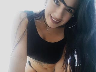 Velmi sexy fotografie sexy profilu modelky KimWallton pro live show s webovou kamerou!