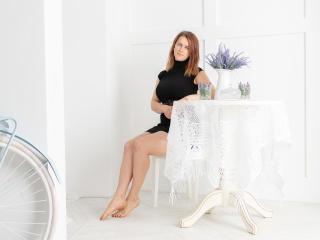 Velmi sexy fotografie sexy profilu modelky Kukuti pro live show s webovou kamerou!