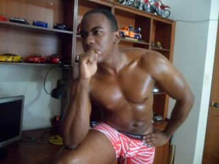 Picture of the sexy profile of LatinBlackHot69, for a very hot webcam live show !