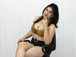 Picture of the sexy profile of LiaLive, for a very hot webcam live show !