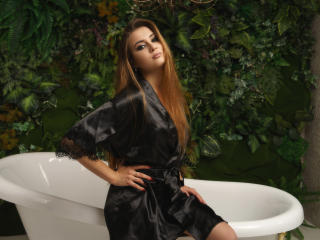Sexet profilfoto af model LisabellFlower, til meget hot live show webcam!