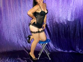 Hình ảnh đại diện sexy của người mẫu LizAdrenaline để phục vụ một show webcam trực tuyến vô cùng nóng bỏng!