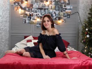 Photo de profil sexy du modèle LizzMorgan, pour un live show webcam très hot !