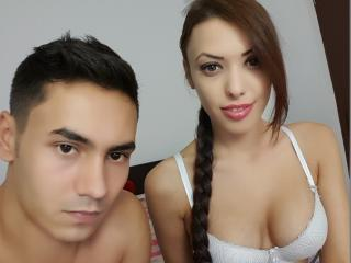 Picture of the sexy profile of LovelyyXCouple, for a very hot webcam live show !