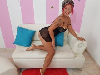 Sexet profilfoto af model MatureMelanie, til meget hot live show webcam!