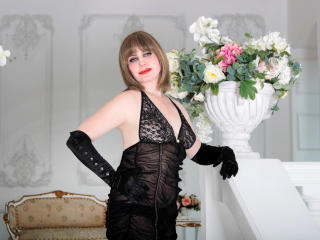 Sexet profilfoto af model MatureXLady, til meget hot live show webcam!