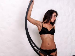 Photo de profil sexy du modèle MorganAzanki, pour un live show webcam très hot !