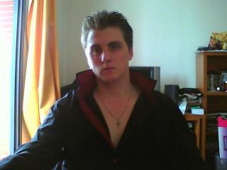 Foto del profilo sexy della modella Morrissex, per uno show live webcam molto piccante!