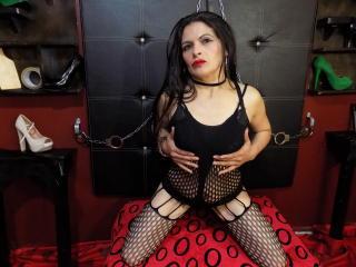 Velmi sexy fotografie sexy profilu modelky NaugtthyAssForU pro live show s webovou kamerou!