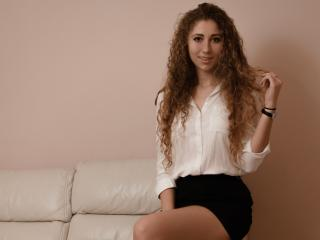 Photo de profil sexy du modèle NellaFlower, pour un live show webcam très hot !