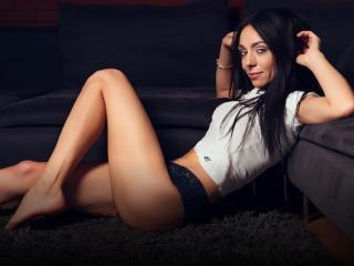 Sexy profilbilde av modellen  NicoleFetish, for et veldig hett live webcam-show!