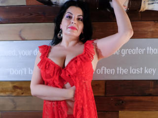 Sexet profilfoto af model Onewetmilf, til meget hot live show webcam!