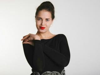 Velmi sexy fotografie sexy profilu modelky Parineti pro live show s webovou kamerou!