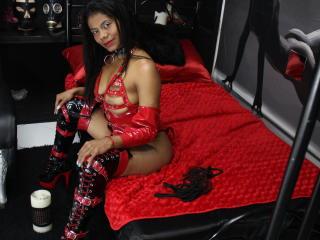Photo de profil sexy du modèle PaulettEbony, pour un live show webcam très hot !
