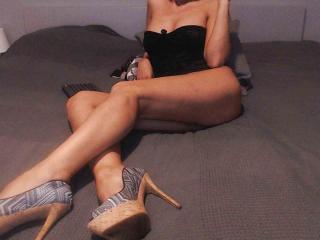 Velmi sexy fotografie sexy profilu modelky PrettyEllen pro live show s webovou kamerou!